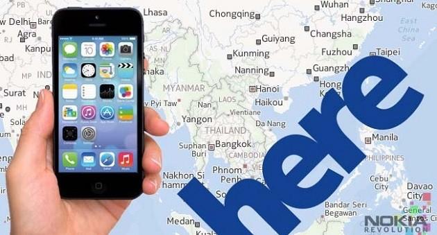 """Các hãng xe hơi """"tranh nhau"""" mua lại bản đồ Here của Nokia"""