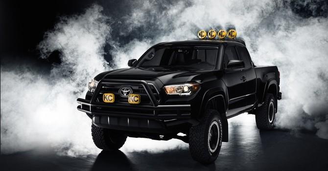 """Toyota ra mắt mẫu xe tải """"đến từ tương lai"""""""