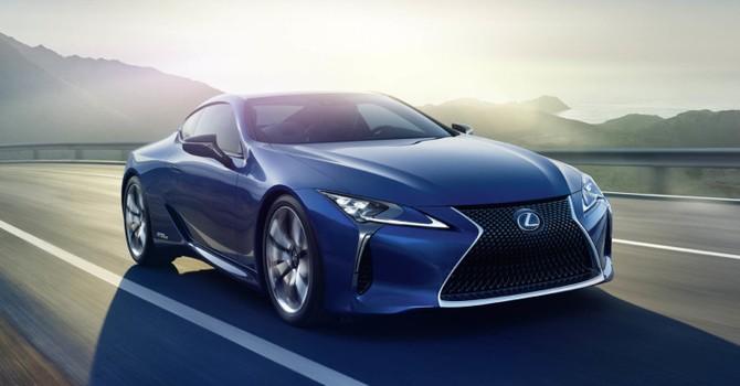 """Lexus LC 500h sẽ """"trình làng"""" tại Geneva Motor Show 2016"""