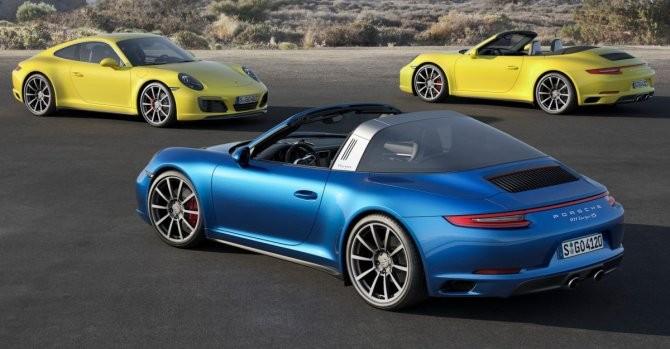 """""""Điểm mặt"""" 22 phiên bản của dòng xe Porsche 911"""