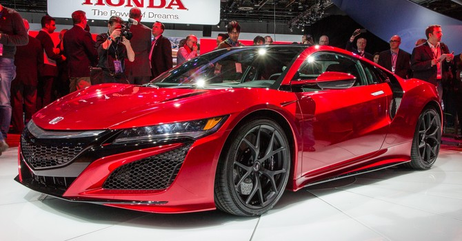 [Xế mới trong tuần] Acura NSX 2017, Toyota 86,  Mercedes-AMG GCL43