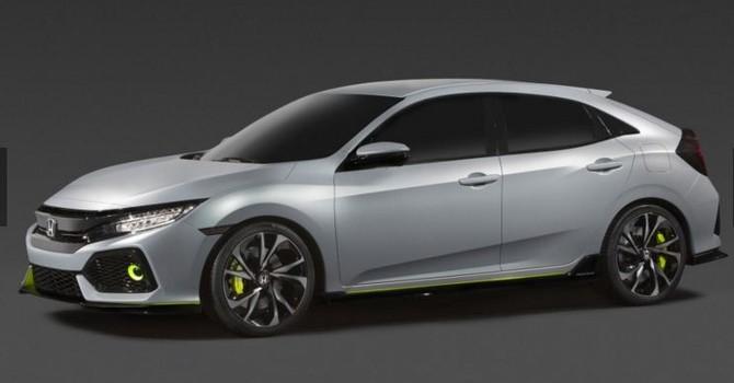 Honda Civic 2017 lộ ảnh thật, xuất xưởng vào cuối năm nay