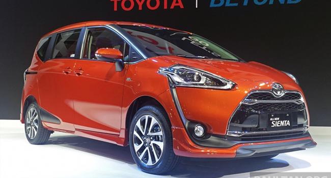 Toyota ra mắt xe 7 chỗ Sienta, nổi bật hơn cả Innova