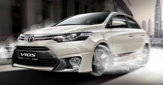 """Toyota Vios vẫn """"đắt khách"""" nhất 3 tháng đầu năm tại Việt Nam"""