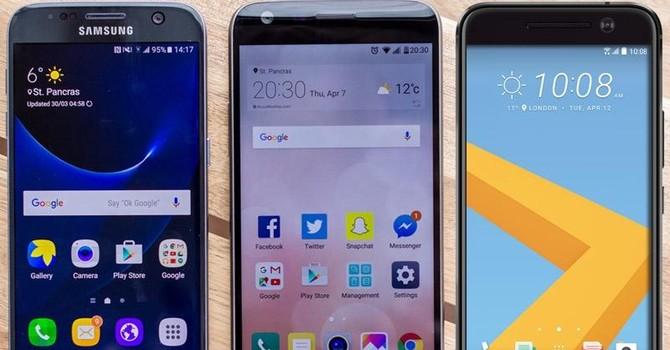 """HTC 10 """"đọ sức"""" cùng G5 và Galaxy S7"""