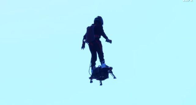 [Video] Thử nghiệm ván bay phản lực cá nhân