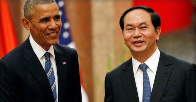 """Reuters: Tổng thống Obama chúc mừng những """"tiến bộ vượt bậc"""" của Việt Nam"""