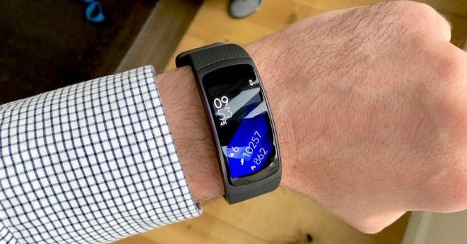 Samsung ra mắt vòng đeo tay thông minh, giá gần 4 triệu đồng