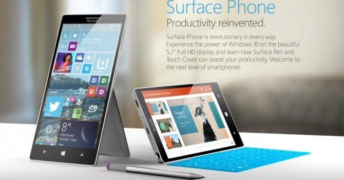 Microsoft sắp ra mắt smartphone Surface dành riêng cho doanh nghiệp