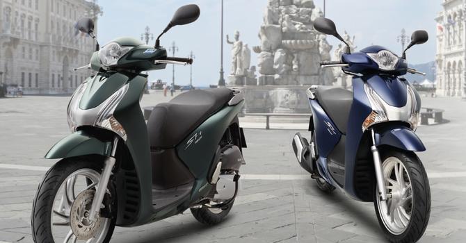 Honda SH sắp ra phiên bản mới?
