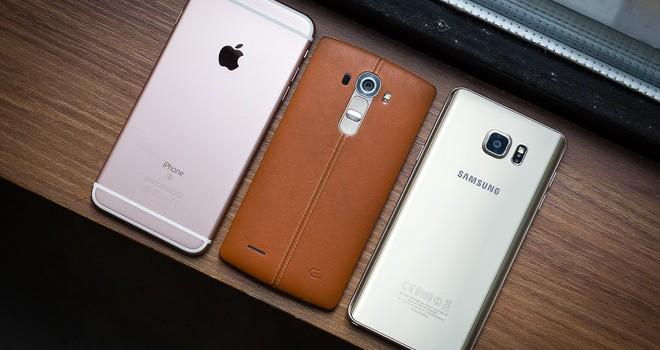 Smartphone Android nào đang là đối thủ lớn nhất của iPhone?