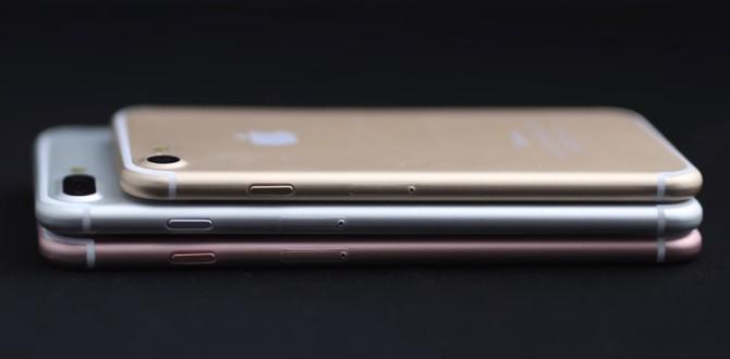 Lộ video chi tiết 3 phiên bản của iPhone 7