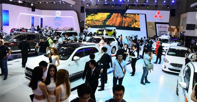 Nhiều mẫu xe mới xuất hiện tại Triển lãm ô tô Việt Nam 2016