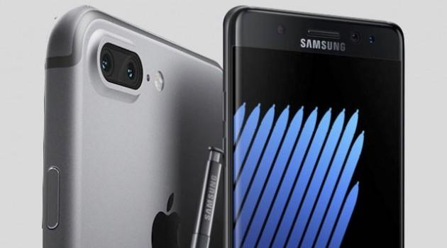 """[Video] Galaxy Note 7 """"so găng"""" cùng iPhone 7"""