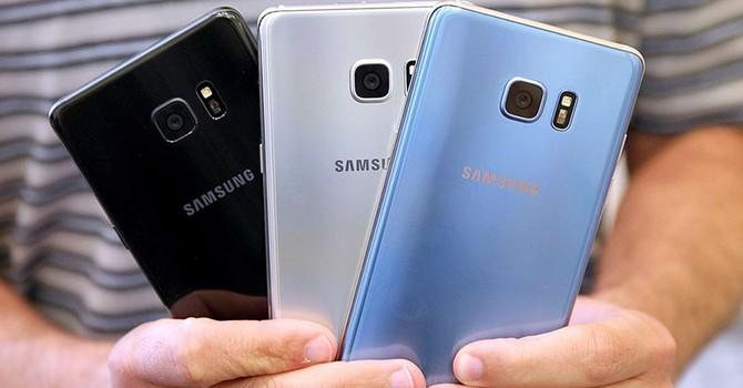 Samsung: Galaxy Note 7 đổi mới vẫn nóng là bình thường