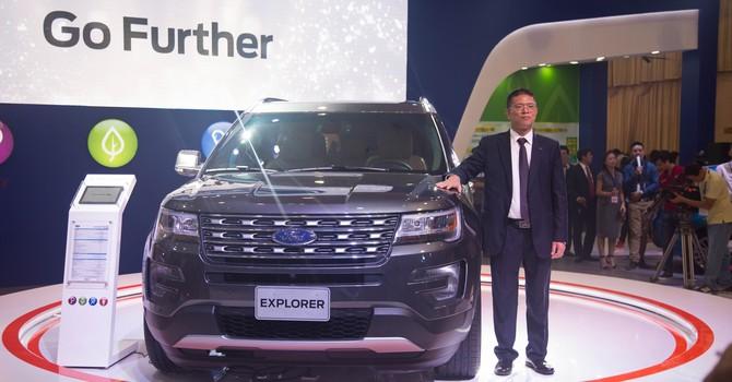 Cận cảnh Ford Explorer giá 2,18 tỷ đồng mới về Việt Nam
