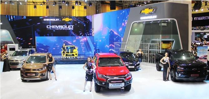 Chevrolet ra mắt đồng thời 5 phiên bản của mẫu xe Colorado 2017