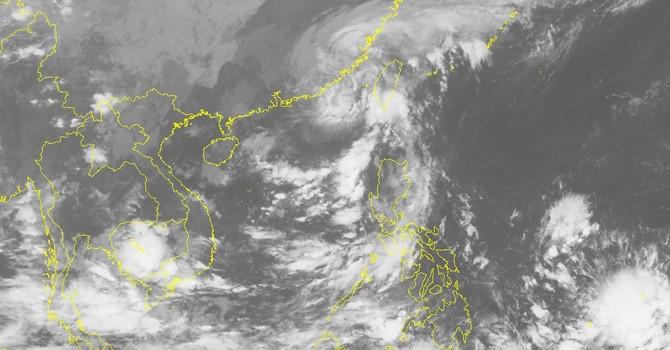 Bão số 6 dần suy yếu thành áp thấp nhiệt đới