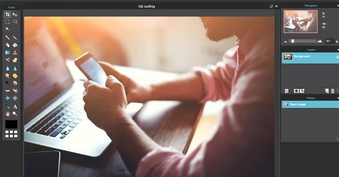 [Ứng dụng cuối tuần] Cách chỉnh ảnh online trên website mà không cần tải Photoshop