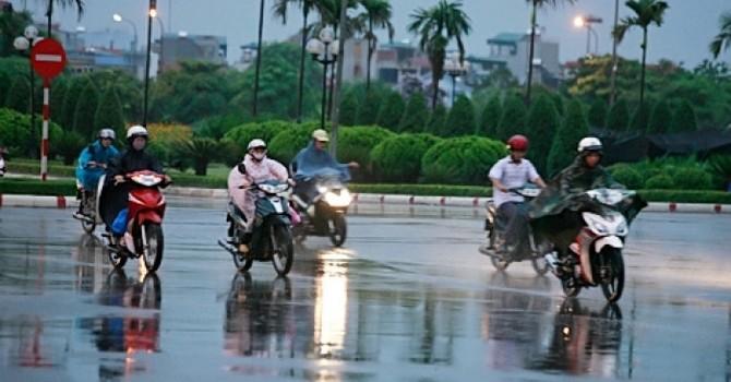 Thời tiết hôm nay 26/10, Hà Nội có mưa vào đêm và sáng sớm