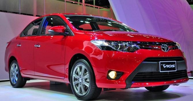 Công nghệ 24h: Toyota Vios lại trở thành mẫu xe bán chạy nhất tháng 10/2016