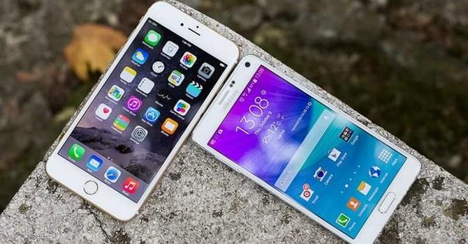 Đọ độ bền giữa điện thoại iPhone và Android