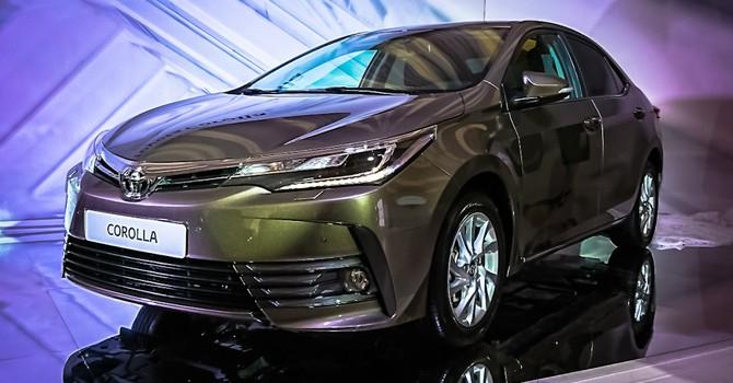 Toyota Corolla Altis 2017 ra mắt tại Thái Lan với giá từ 508 triệu đồng