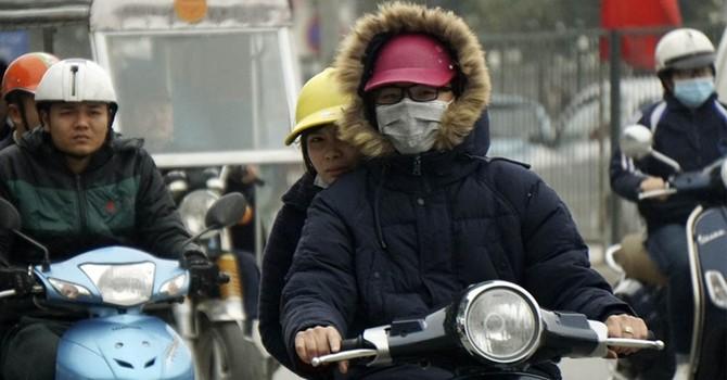 Chiều mai Bắc Bộ đón đợt mưa rét mới, nhiệt độ giảm còn 11 độ C