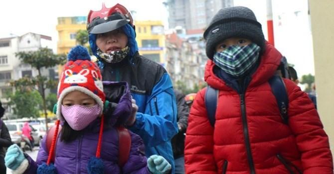 Không khí lạnh tràn về Bắc Bộ, Hà Nội lạnh 15 độ C