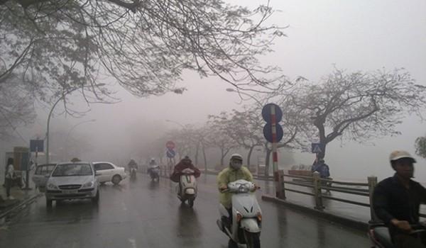 Thời tiết hôm nay 12/1: Hà Nội mưa rét thêm 2 ngày nữa