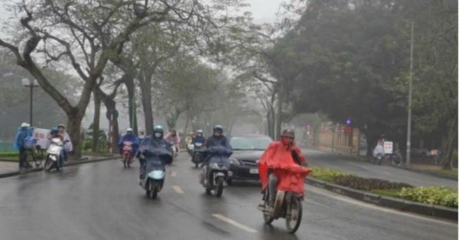 Ảnh hưởng của vùng hội tụ gió tây nam, Bắc Bộ chuyển mưa lạnh