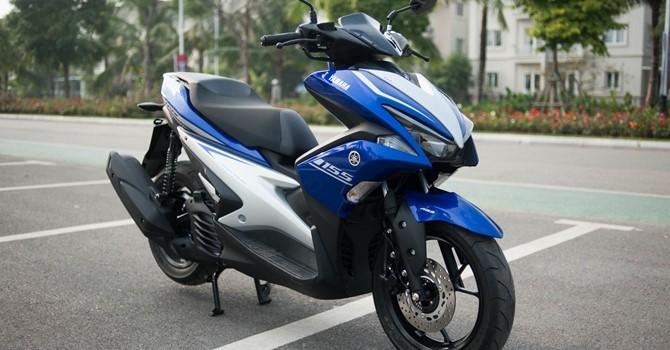 Yamaha thay mới miễn phí giảm sóc xe tay ga NVX
