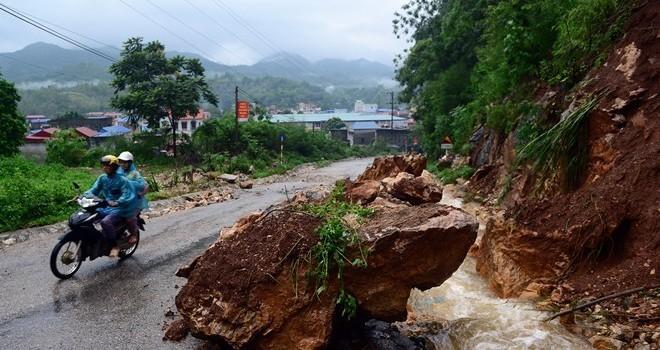 Cảnh báo lũ, lũ quét, sạt lở đất tại các tỉnh miền núi phía Bắc