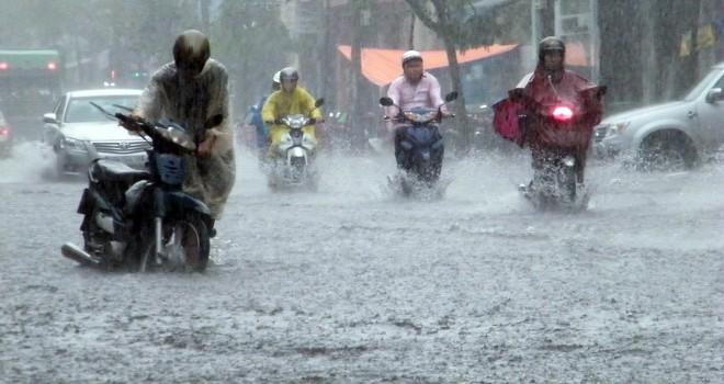 Bắc Bộ tiếp tục bước vào đợt mưa lớn 4 ngày