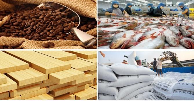 8 tháng đầu năm, xuất khẩu nông lâm thủy sản tăng gần 14% so với cùng kỳ