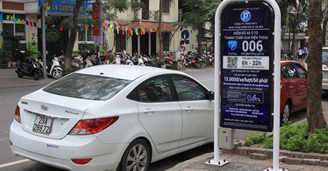 Hà Nội: Mở rộng ứng dụng Iparking vào trông giữ xe máy
