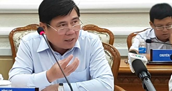 Chủ tịch TP.HCM phê bình lãnh đạo sở ngành báo cáo vống