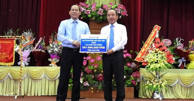 Tập đoàn Bảo Việt dành gần 30 tỷ đồng cho thế hệ trẻ nhân dịp khai trường