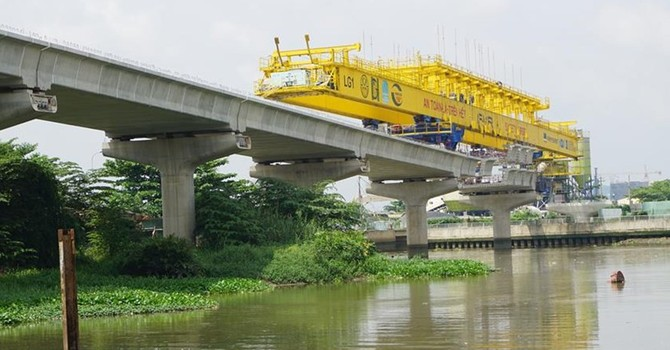 """Tuyến metro số 1 ở Sài Gòn tiếp tục """"đói"""" vốn, nguy cơ chậm tiến độ"""