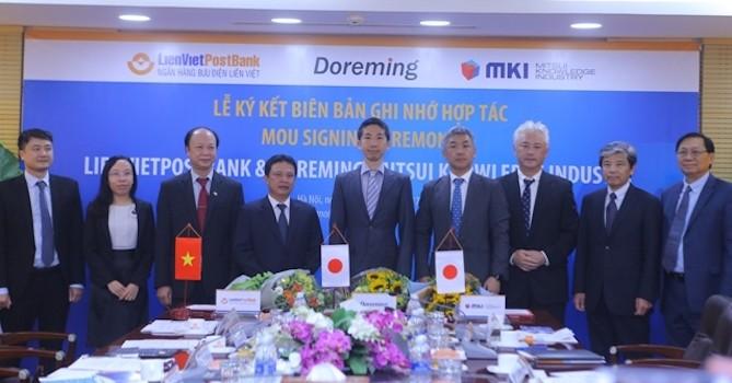 Ngân hàng Bưu điện Liên Việt mở rộng hợp tác với các công ty Nhật Bản