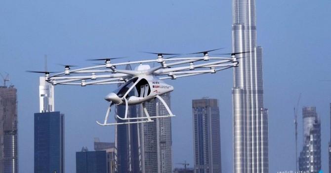 Dubai thử nghiệm chở khách bằng taxi bay, tham vọng bay 30 phút/chuyến