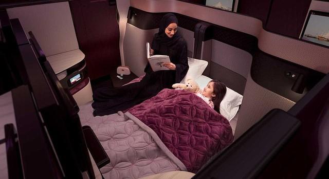 Hãng hàng không đầu tiên trên thế giới ra mắt giường đôi
