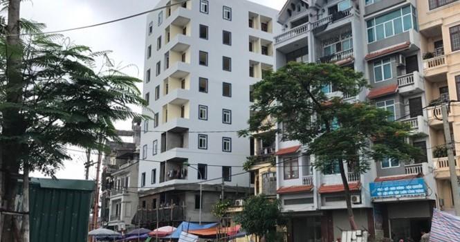 Chung cư miini quận Thanh Xuân xây sai phép