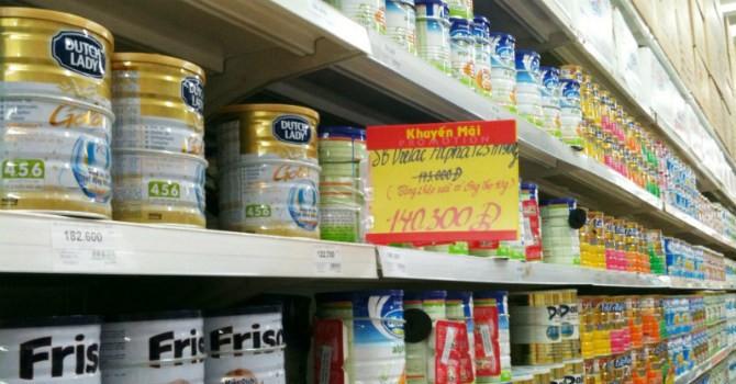 50 sản phẩm sữa sẽ giảm giá từ 20/4