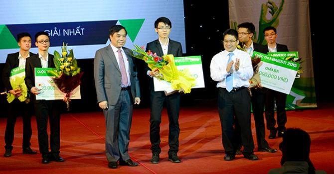 Sinh viên Ngoại thương giành chiến thắng tại cuộc thi I-INVEST! 2015