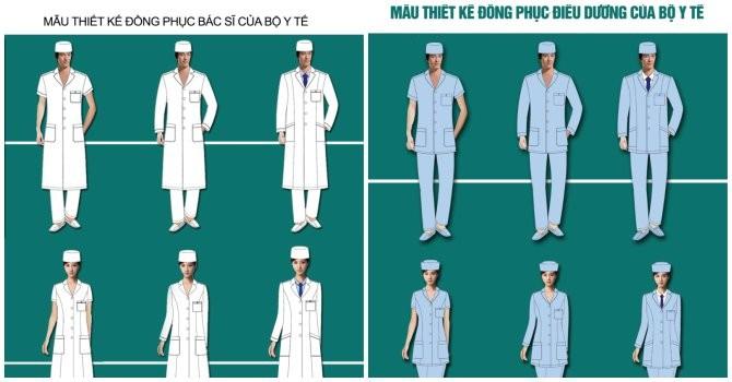 Bộ Y tế đề xuất đổi trang phục, nhiều ý kiến phản đối