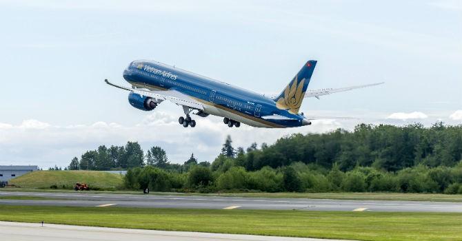Vietnam Airlines bay thử nghiệm Boeing 787-9 Dreamliner