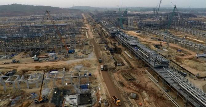 Nhà thầu Hàn Quốc phá sản ảnh hưởng tiến độ dự án lọc hoá dầu Nghi Sơn