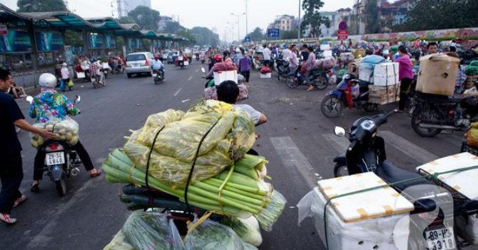Chợ đầu mối Long Biên sẽ bị xóa sổ?