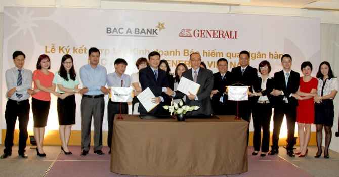 """Ngân hàng Bắc Á """"bắt tay"""" Generali Việt Nam kinh doanh bảo hiểm"""
